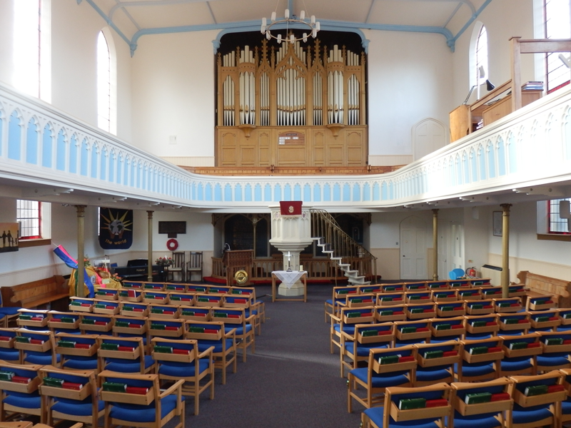 Newbury Church Sound System Upgrade